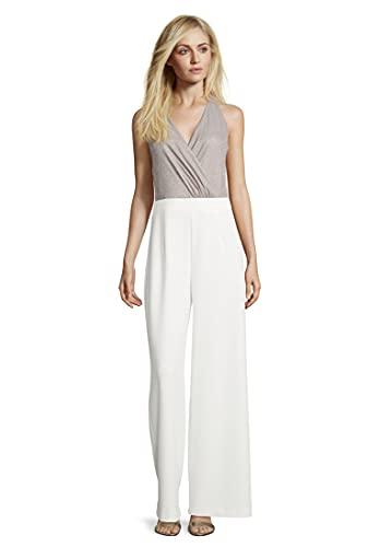 Vera Mont Damen 4126/4682 Jumpsuit, Weiß (White/Cream 1813), (Herstellergröße: 42)