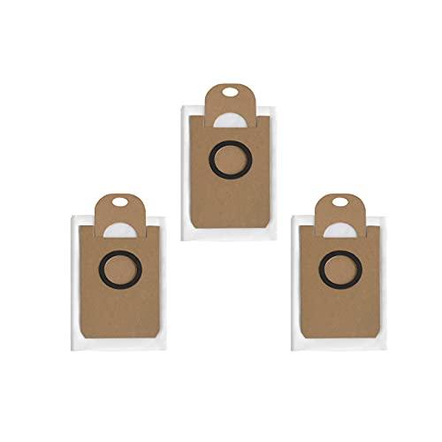 Ultenic Saugroboter Ersatzteile - 3 Stück Staubbeutel - Umweltfreundliche und Praktishce Einweg-Beutel - Allergikerfreundliche und Hygienische Staubsaugerbeutel für Ultenic T10