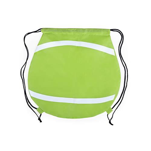 eBuyGB Sac de Sport Unisexe avec Cordon de Serrage, Unisexe - Adolescents, 1335948, Balle de Tennis, 1 pièce