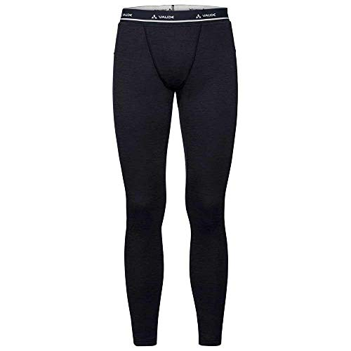 VAUDE Base Homme Tights, Black, FR : 2XL (Taille Fabricant : 56)