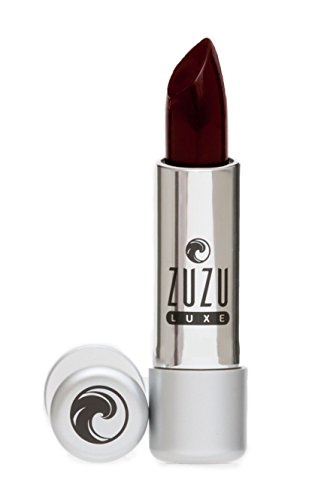 Zuzu Luxe Lipsticks (Femme Fatale),0.13 oz,Ultra Pigmented and long lasting, Enriched with Jojoba Seed Oil,Aloe for ultra hydrated lips.Natural, Paraben Free, Vegan, Gluten-free,Cruelty-free, Non GMO.