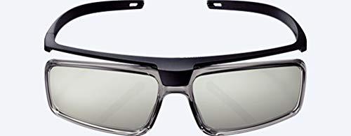 Factory Original Sony TDG-500P Passive 3D Glasses Slim Look No Batteries Needed/No Charging Necessary (TDG-500P) (1 Pair)