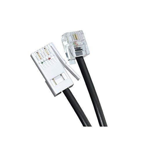 Ornin BT Plug to RJ11 telefoonkabel 3 Meters Zwart