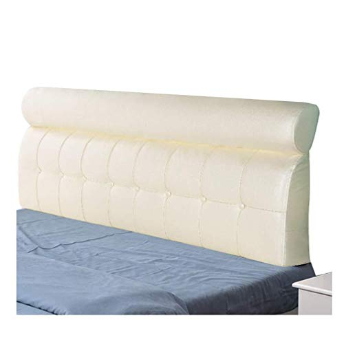 Waist Protection Removable Washable Pillow Soft Case Large Bedside Large Lumbar Bed Headboard Bed Backrest Cushion 0902
