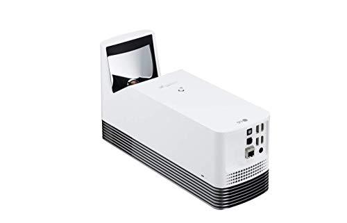 LG Beamer HF85LS Allegro 2.0 bis 304,8 cm (120 Zoll) CineBeam Laser Full HD Ultrakurzdistanz Projektor (1500 Lumen, smarte Funktionen, Laser 20000 hrs) weiß