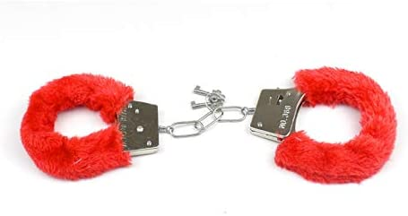 Colorful Wrist Leather Fluffy Handcuffs Bracelet Leg Cuffs Anklet Bangle Role Play Exercise product image