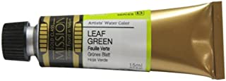 Mijello Mission Gold Class Water Color, 15ml, Leaf Green