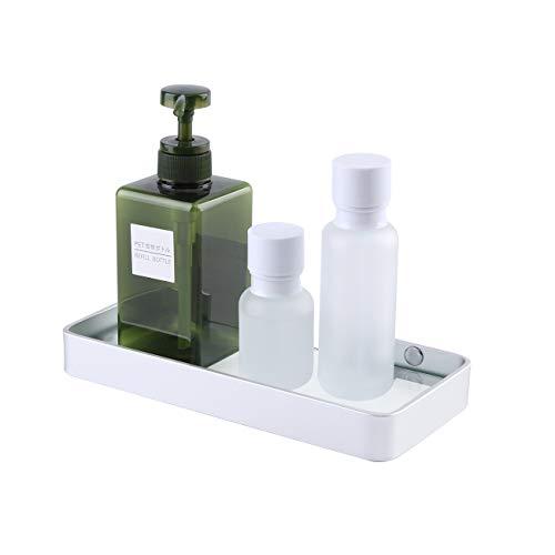 Umi. von Amazon Glasregal Wandregal Duschablage Dusche Glas Ablage 6mm Duschregal Badezimmer Regal 25cm Badregal Wandmontage Aluminium Eloxiert Silber, BGS4201S25DG