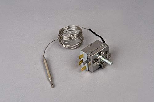 Temperaturregler Thermostat für Warmwasserboiler Warmwasserspeicher 30-90°C 4-Pins