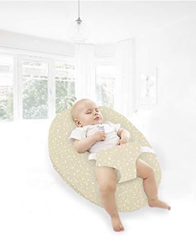 PETIT ALO Almohada para Embarazadas para Dormir | Cojín Multifuncional, Cojín Lactancia Bebé + Almohada Embarazada, Almohada Lactancia. | Cojín con Sujeción para Bebés