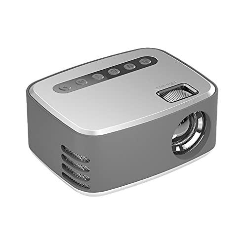 Proiettori Mini Proiettore Full HD Video Proiettore Portatile con Display da LCD Home Cinema TV E Video Proiettori Mini Proiettore Wireless