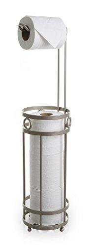 BINO 'The Glacier' Free Standing Toilet Paper Holder, Nickel