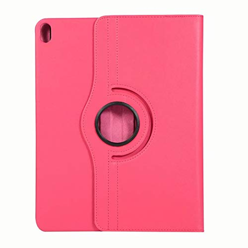HaoHZ Case for iPad Air 4 10.9 Inch 2020 [Support 2Nd Gen Pencil Charging] - 360 Degree Rotating Stand Cover for ipad Air 4th Generation,Rose red