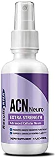 Results RNA ACN Neuro | Extra Strength Focus & Concentration Supplement for Improved Mental Alertness & Cognitive Function - 4oz Bottle