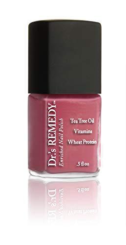 Dr. 's Remedy Angereichert Nail Care Polish 14ml, entspannend Rose