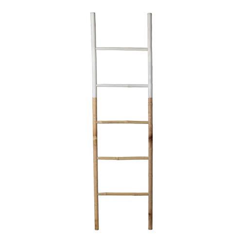 SKLUM Escalera Leit Dipeada Bambú Blanco - (Elige Color)