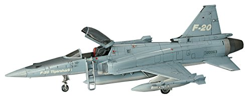ハセガワ 1/72 アメリカ空軍 F-20 タイガーシャーク プラモデル B3