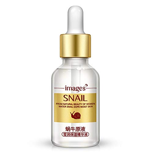 Solution naturelle pure d'escargots à base d'acides hyaluroniques Extrait d'escargots Nourrissant Réparation Vitamine C Hydratante Essence