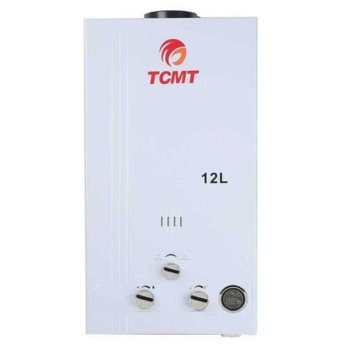 Tengchang 3.2GPM Water Heater 12L LPG Propane Gas Tankless Instant Boilers Digital Display