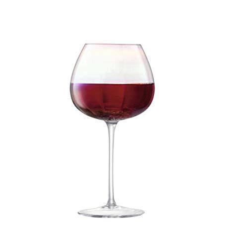 AUNKIER Hermosas copas de vino, hechas de cristal de alta calidad, para inauguración de casa, boda, aniversario.