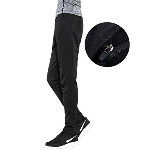 Sneldrogende broek broek nauw stretch zak ritssluiting dunne losse sporttraining fitness lopen compressie basketbal mannen MUJIN