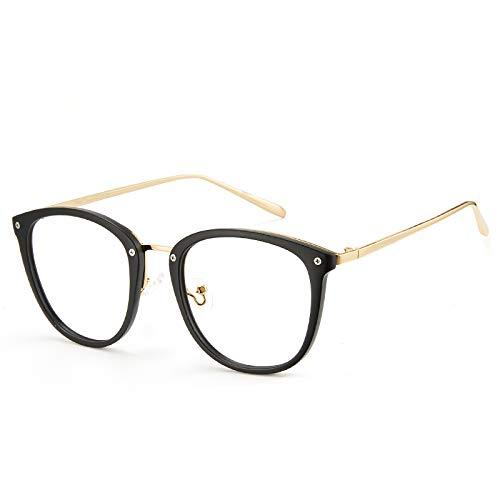 Cyxus Gafas con bloqueo de luz azul con montura de TR90, gafas para videojuegos para combatir la fatiga ocular, el dolor de cabeza, para hombres y mujeres