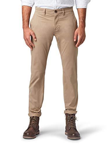 TOM TAILOR Herren Travis Regular Straight Jeans, Beige (Chinchilla 11018), 31W / 32L