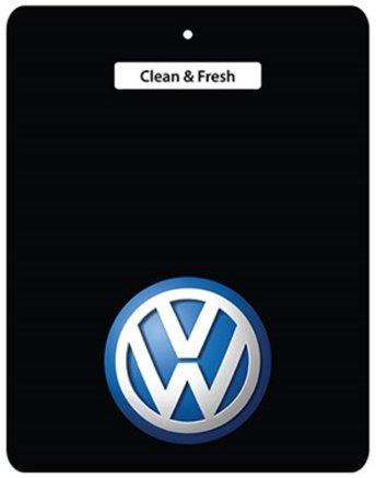 Ali Air Freshener-Deodorante per auto Volkswagen, colore: nero (2 per offerta serie 6!!!, Bora, passeggini, Caddy, Caravelle, Corrado, Golf, I Golf Golf II, III, IV, in Golf Golf V, Jetta, New LT, Lupo Beetle, Polo, Passat, Scirocco, T2, T3, T4, T5, Touran, Transporter, Vento, tutti I VW