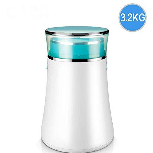 Kücheks Lavadora portátil 2 en 1, Lavadora compacta semiautomática y Secadora de Centrifugado, desinfección con BLU-Ray Capacidad Total de 3 kg Capacidad de Secado de 1,5 kg, Blanco y Rosa