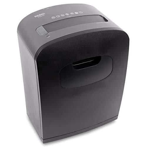 Duronic PS410 Generalüberholt Aktenvernichter   Shredder   Micro Cut   Partikelschnitt   6-8 A4 Blätter   4 L Auffangbehälter   Kreditkarte   GDPR: Datenschutz   Ideal für Kleinbüro