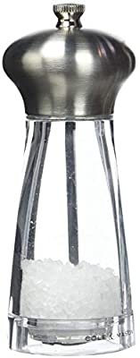 Cole & Mason Precision Exeter 160 mm Stainless Steel with Acrylic Pepper Mill