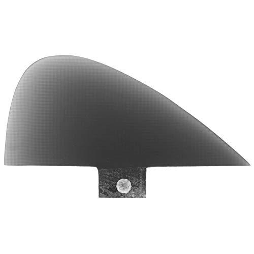 Jopwkuin Tail Fin A Single Tongue Diseñado para Uso con un Tornillo de Cabeza Plana y un Kit de llenado FCS, para Kayaks(Black)