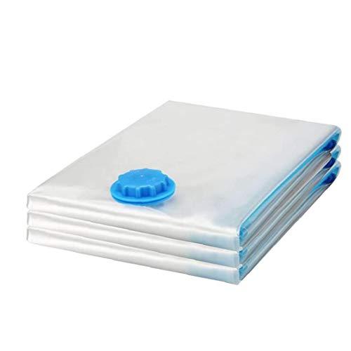 Aspiradora Bolsa de Almacenamiento Space Saver Bolsas de compresión Ropa de Cama Impermeables para edredones Mantas Coats 3PCS M Ahorrar Espacio