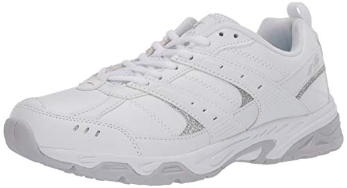AVIA Women's Training Sneaker, White/Micro Chip/Petit...