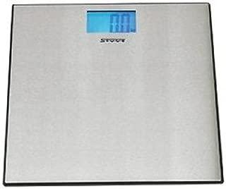 Stube 650 Báscula personal electrónica Acero inoxidable - Báscula de baño (Analógico, Acero inoxidable, 302 mm, 302 mm, 22 mm, AAA)
