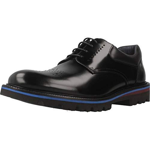 Sergio Serrano Zapatos Cordones 5534 55 Hombre Negro