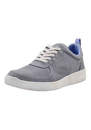MELAWEAR Herren Sneaker - Nachhaltig mit Fairtrade Cotton, GOTS & Grüner Knopf Zertifizierung, Farbe :grau, Größe :43