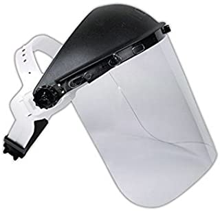 Magid Glove & Safety IHG7RK8154 Magid Headgear with Polypropylene Face Shield, 9x15.5, Clear, 8x15.5