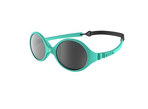 Ki Et La Ki ET LA - Babysonnenbrille im Stil Diabola - 100% unzerbrechlich - Minzblau - 0-18 Monate