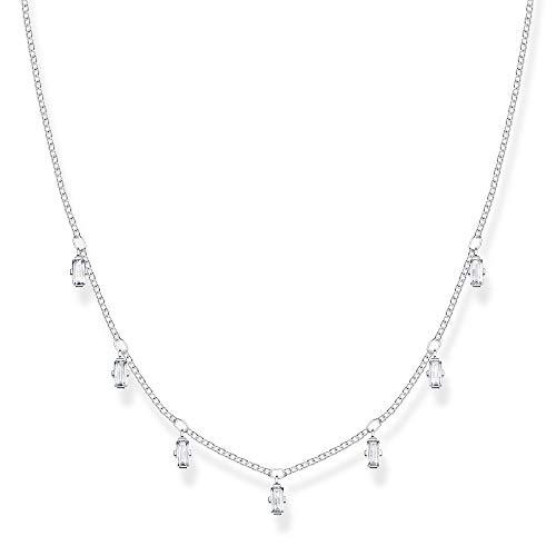 Thomas Sabo Mujer Plata Collar con Colgante KE1903-051-14-L40v