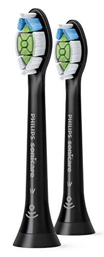 Philips Sonicare W2 Optimal White HX6062 - Cabezales de recambio (2 unidades), color negro