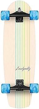 Landyachtz Butter White Oak Lines Surfskate Longboard Skateboard