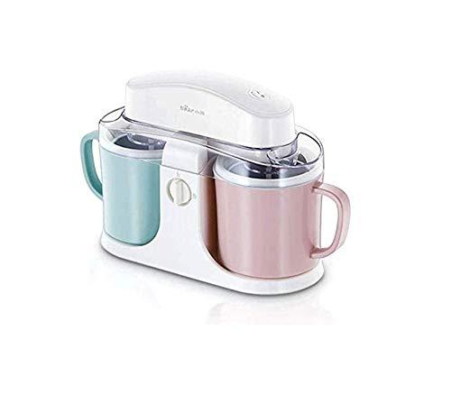 Maschine für Joghurt, Eiscreme-Maschine, elektrische Eismaschine für Sorbet Joghurt-EIS mit Misch Scoop und Sleep-Timer Automatische