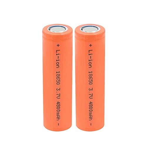 ahjs457 Batería 2P 18650 3,7 v 4800 mah batería Recargable reemplazo de células para micrófono Linterna