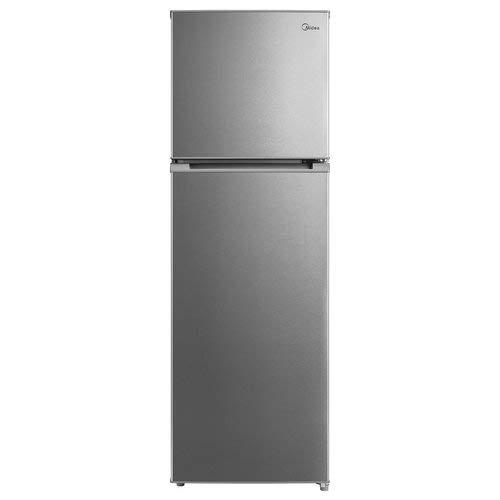 Midea MT333A1 frigorifero con congelatore Libera installazione Acciaio inossidabile 252 L A+