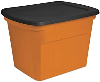 Best orange plastic storage bins Reviews