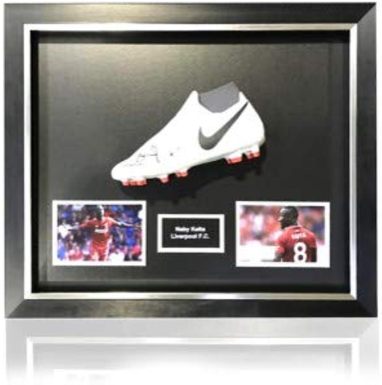 Generic Nike Phantom Fußballschuh Naby Keita, handsigniert, in klassischem Kuppelrahmen, Weiß B07KLSR3N5  | Qualitätskönigin