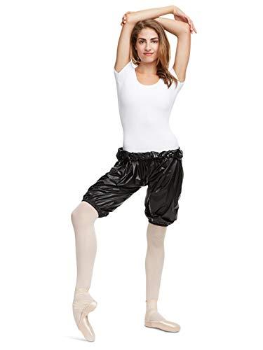 Capezio Perspiration Shorts - Size Medium, Black