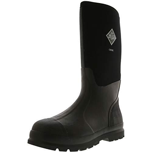 MuckBoots Chore Classic Men's Rubber Work Boots,Black,Men's 11 M US / Women's 12 M US