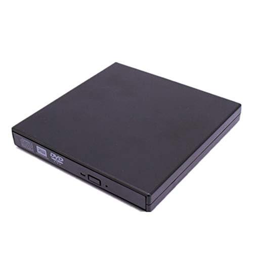 Zidao CD DVD Laufwerk for Laptop CD DVD, Laufwerk Externer CD DVD Laufwerk for Laptop USB 3.0 Portabler CD DVD CD DVD Laufwerk USB 2.0 Flaches Und Portables CD DVD,Schwarz